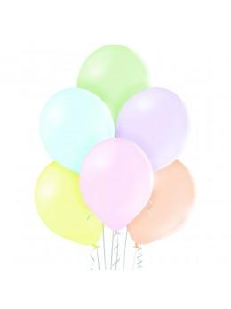8 Ballons pastels 30cm
