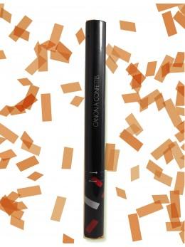 Canon à confetti orange 60cm