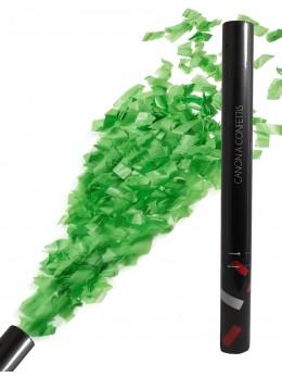 Canon à confetti vert tilleul 30cm