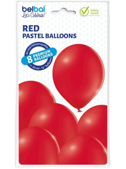 8 Ballons Rouge 30cm