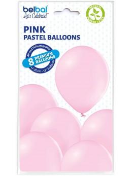 8 Ballons Rose 30cm