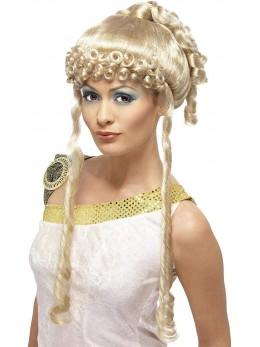Perruque déesse blonde