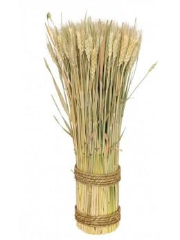 Déco botte épi de blé 50cm