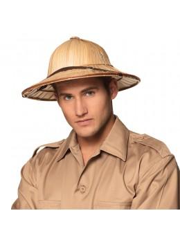 Chapeau explorateur paille