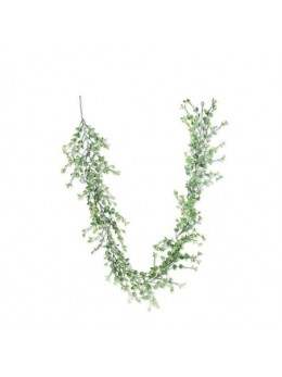 Guirlande mini feuilles eucalyptus 1m80