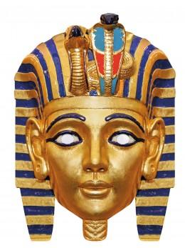 Masque carton Egypte Toutankhamon