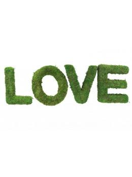 """Set 4 lettres """"Love"""" mousse 20cm"""