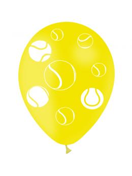 8 Ballons thème Tennis