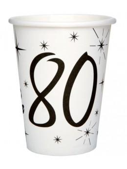 10 gobelets 80 ans