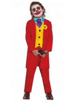 Déguisement Joker rouge enfant