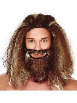 Perruque et barbe Poseïdon