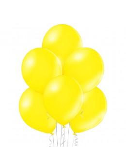 50 ballons jaune nacrés