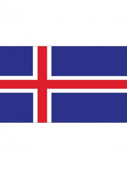 Drapeau Islande 150cm