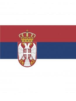 Drapeau Serbie 150cm