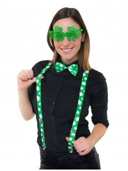 Kit déguisement Saint Patrick 3 pièces