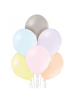 50 ballons pastels assortis 30cm