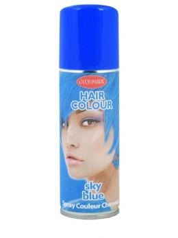Bombe cheveux bleu