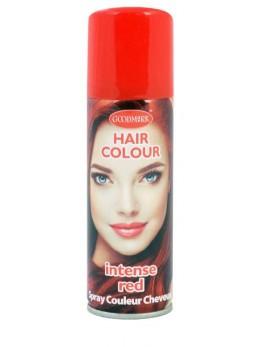 Bombe cheveux rouge