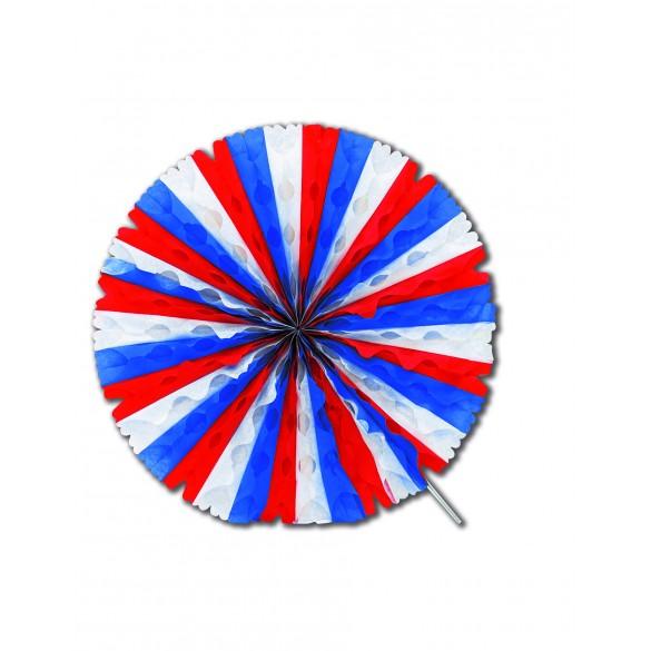Eventail tricolore 50cm