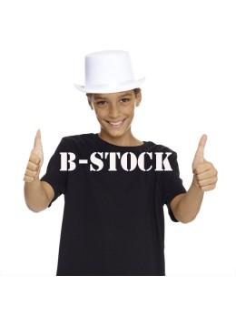 Haut de forme B-Stock enfant blanc