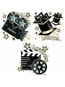 3 Décorations thème cinéma
