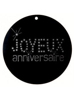 10 Marque place Joyeux anniversaire 5cm