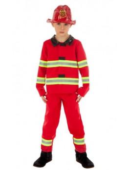 Déguisement pompier américain enfant