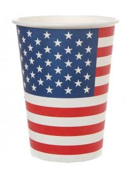 10 gobelets Amérique