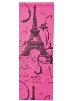 Chemin de table Paris fuchsia