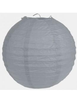 Lampion ballon géant gris