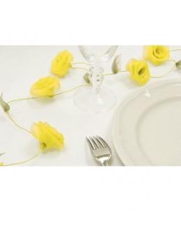 Guirlande de roses jaune