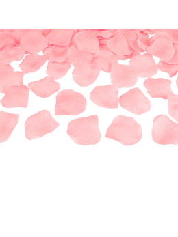 100 Pétales tissu rose