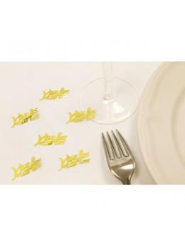 Confetti Vive les mariés or