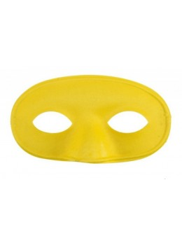 Masque loup tissu jaune