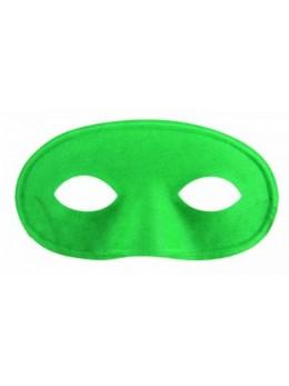 Masque loup tissu vert
