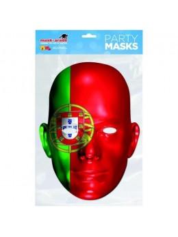 Masque carton supporter Portugal