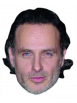 Masque carton Rick Walking Dead
