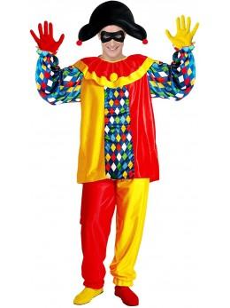 Déguisement clown carreaux
