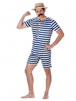 Déguisement maillot de bain rétro 1900