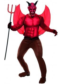 Déguisement Diable rouge luxe