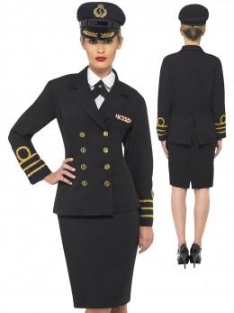 Déguisement uniforme femme navy