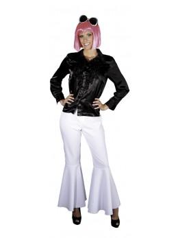 Déguisement chemise disco femme noir