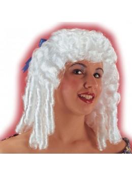 Perruque princesse blanche