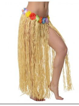 Jupe hawaïenne 85cm naturelle