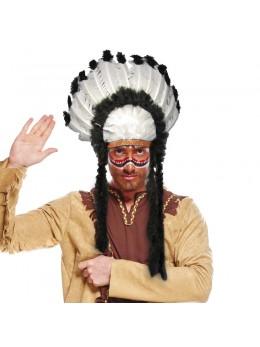 Coiffe chef indien Nuage noir