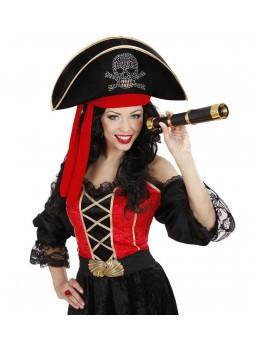 Bicorne de pirate deluxe
