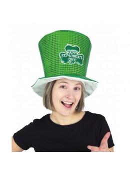Chapeau haut-de-forme Saint Patrick Day
