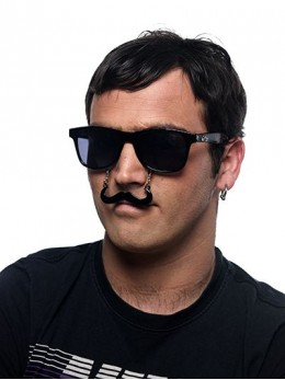 Lunettes moustaches photobooth