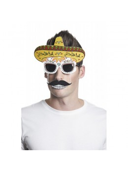 Lunettes photobooth Mexicain Muertos