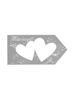 Flèche mariage argent